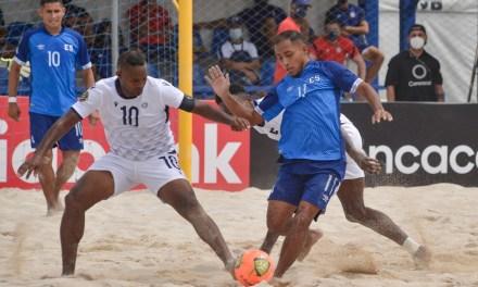 Resumen de la Primera jornada del Campeonato Futbol Playa Concacaf 2021