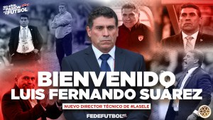 Luis Fernando Suarez nuevo DT de La Sele