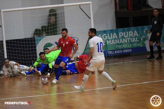 CRC vs Guatemala Amistoso Sala julio 2021 2