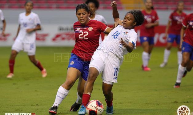 La Tricolor femenina empezó serie internacional de amistosos ante Panamá