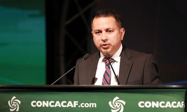 Rodolfo Villalobos reelecto vicepresidente de la Concacaf