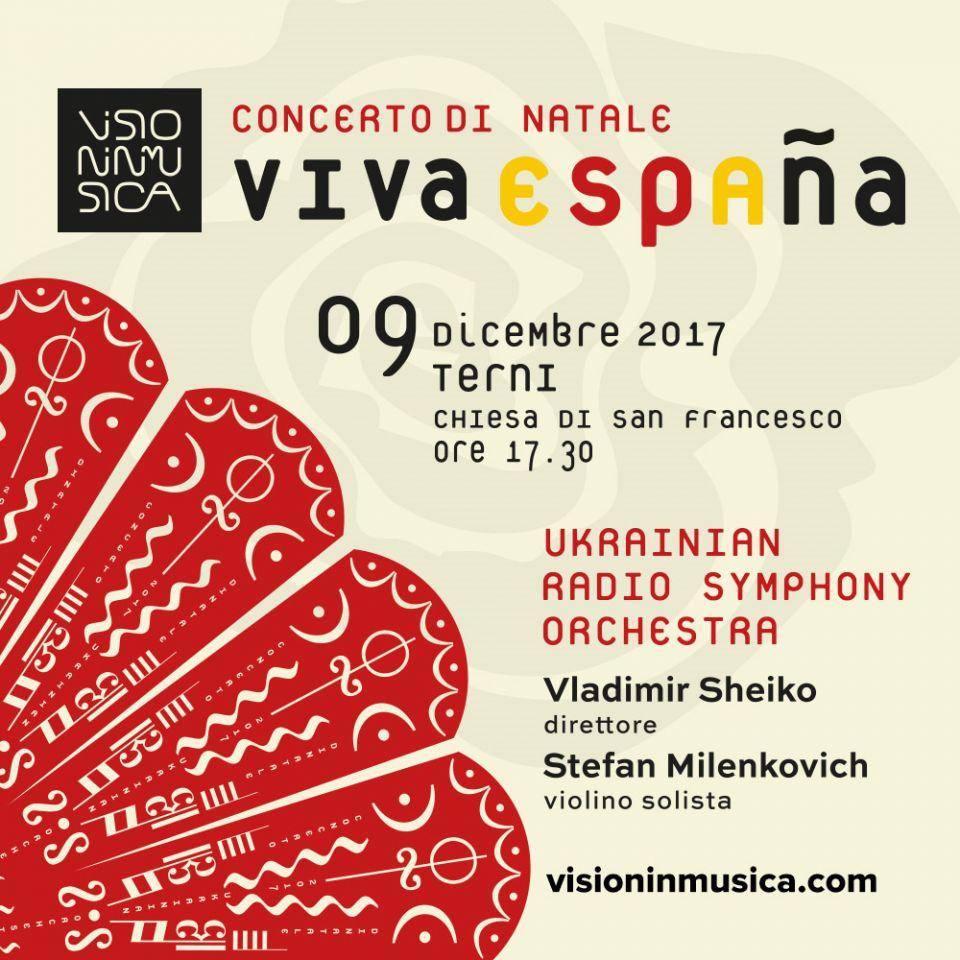 Concerto di Natale VISIONINMUSICA il 9 dicembre a Terni)