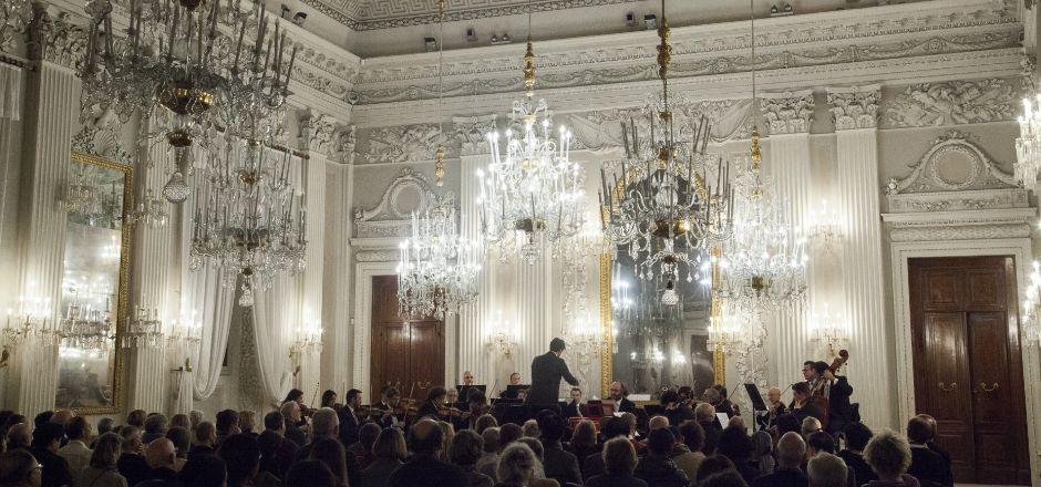 Ciclo Mozart a Palazzo Pitti: sette concerti alle 17 dal 24 gennaio diretti da Federico Maria Sardelli e Alvise Maria Casellati.