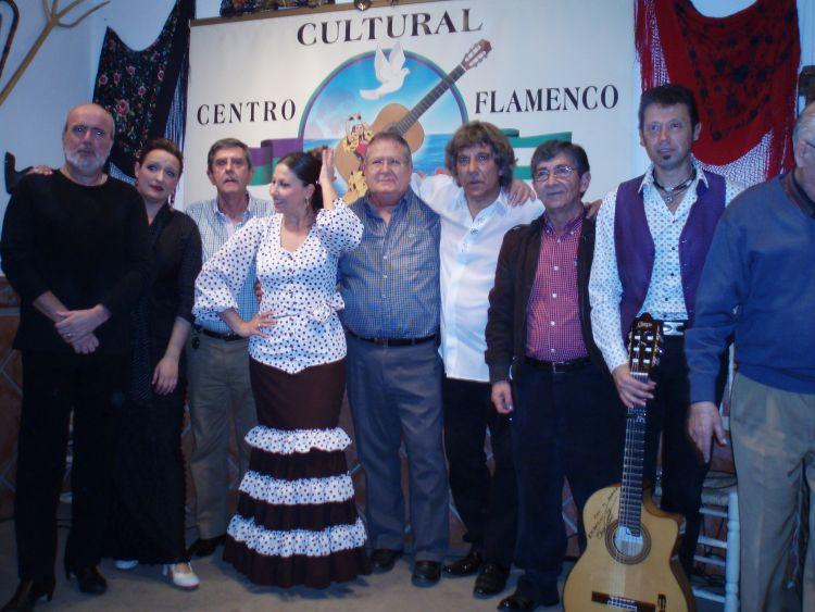 Actuación en Centro Cultural Flamenco La Malagueña el día 13-02-2016