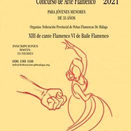 Concurso de Arte Flamenco 2021 para menores de 35 años