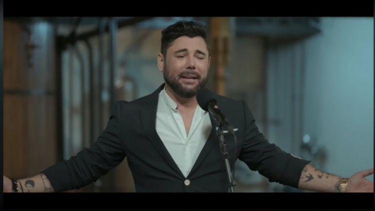 Miguel Poveda y Jesús Guerrero, en 'Un país para escucharlo' de La 2 de TVE