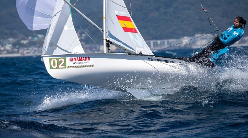 Patri Cantero: 5º del Mundo en 470 Women