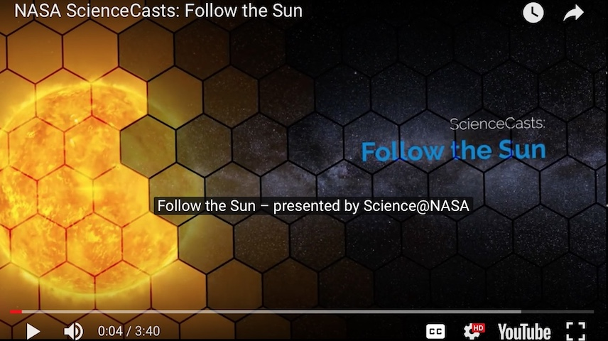 Nasa Follow the Sun