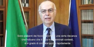 Gianni Rezza DG Prevenzione Sanitaria