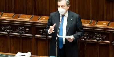 Comunicazioni del presidente Draghi al parlamento