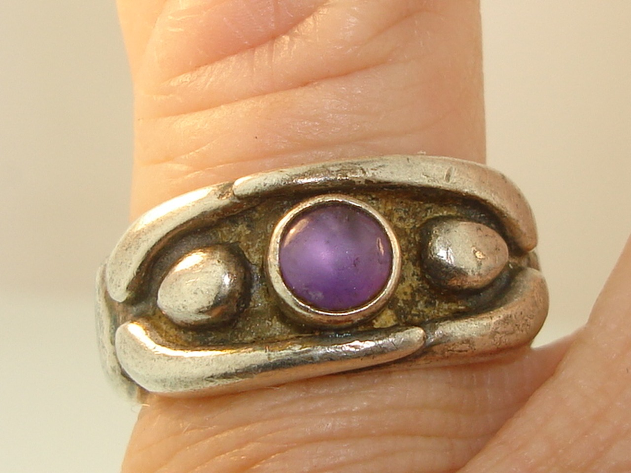 Vintage S Pacific Northwest Native American Sterling