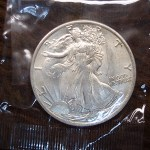1935 WALKING LIBERTY HALF DOLLAR – OLD TIME COLLECTOR/COLLECTION IN PERIOD CELLO