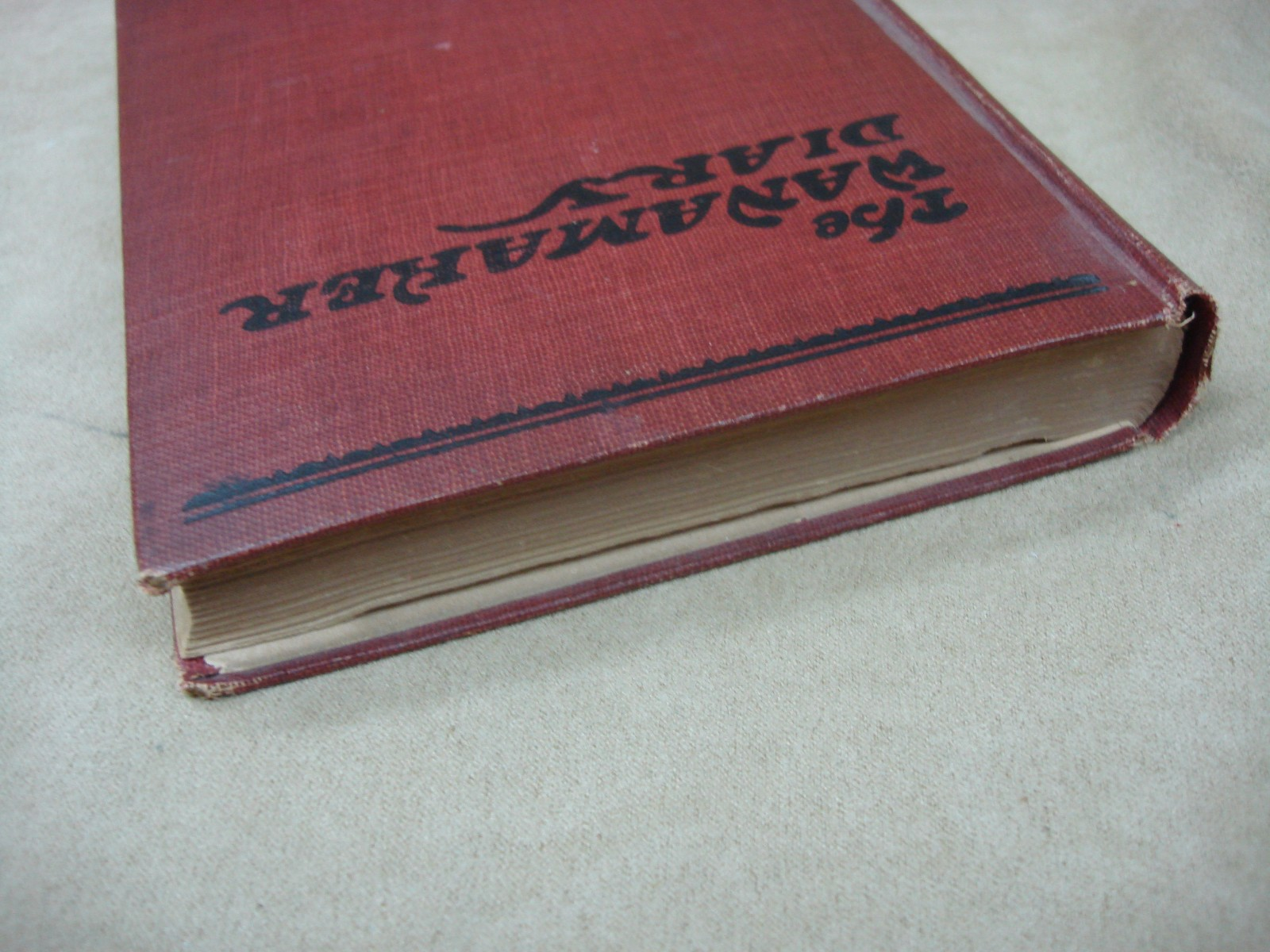 """Vintage Hardcover Book : Antique """"the wanamaker diary hardcover book w"""
