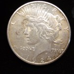1924 S PEACE DOLLAR – HARD TO FIND IN THIS GRADE – WELL STRUCK & NICE