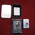 ZIPPO FLUID LIGHTER – 2000 – ELVIS PRESLEY -NEW WITH SEAL IN BOX -MATTE FINISH
