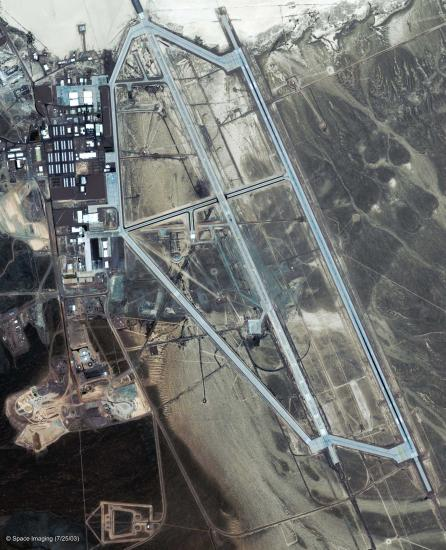 Satellite Photo of Grrom Lake AFB