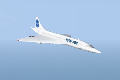 Fantasy Pan Am Livery