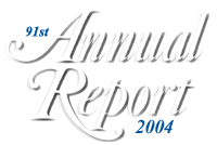 FRB: 91st Annual Report, 2004