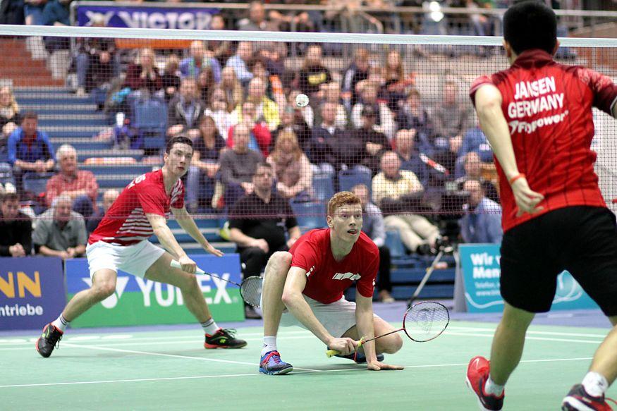 Deutsche Badminton-Meisterschaften in Bielefeld. © Badmintonfotos von Frank Kossiski