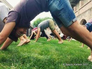 Yoga con Federica all'evento del 21 giugno 2016
