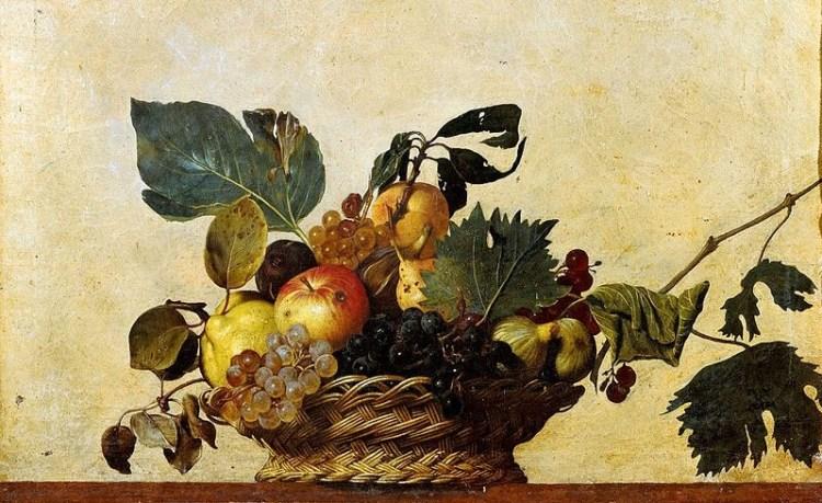Il pARTicolare. La Canestra di Frutta di Caravaggio