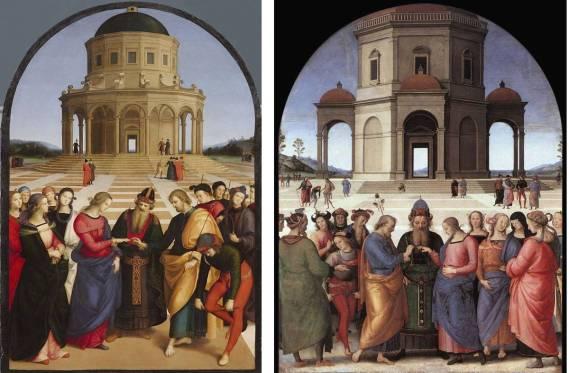 Il pARTicolare. Raffaello e Perugino ne Lo Sposalizio della Vergine