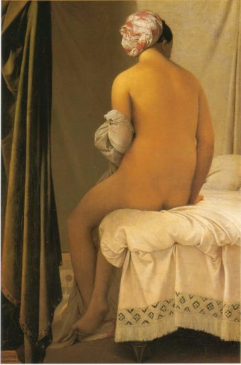 Il pARTicolare. L'inaspettata bagnante di Jean-Auguste-Dominique Ingres