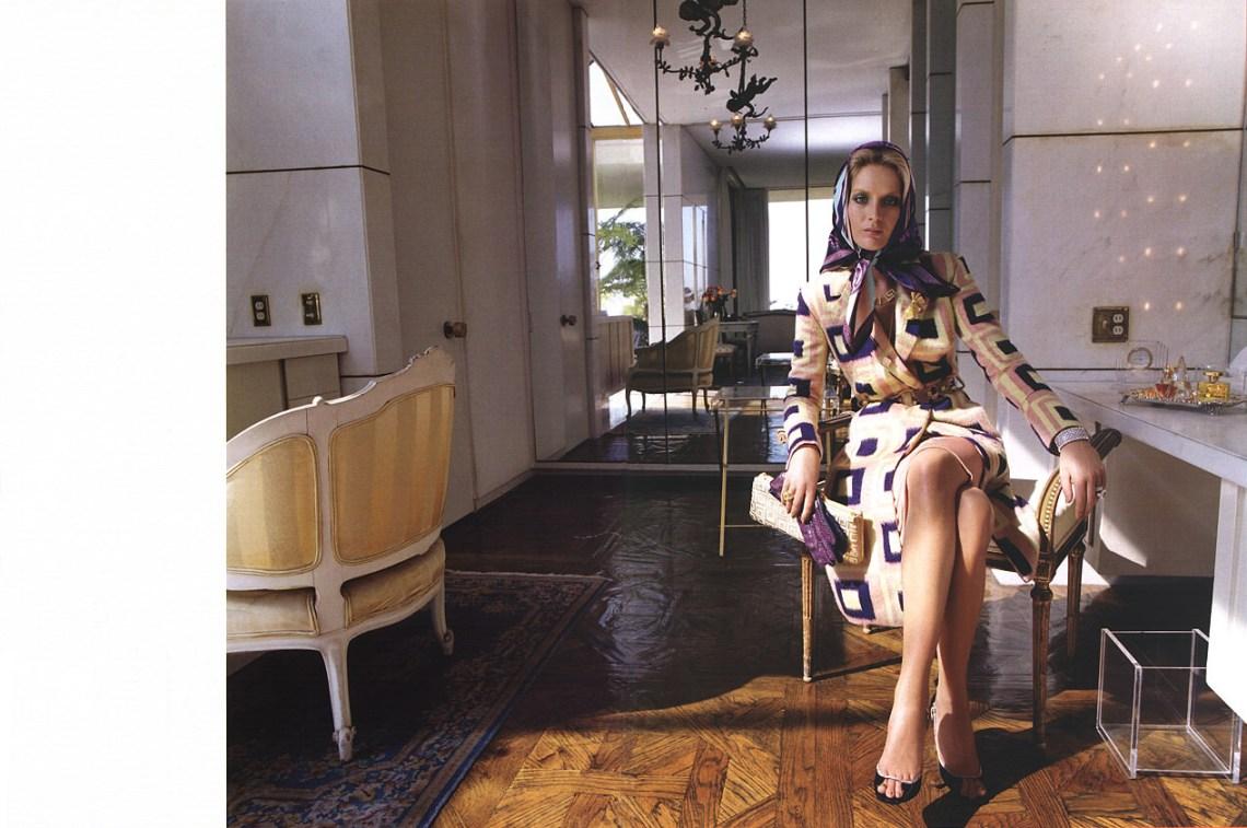FASHION PHOTOGRAPHY – Il pARTicolare. Steven Meisel per Versace