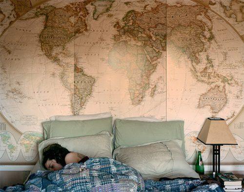 Mappe geografiche arredare casa