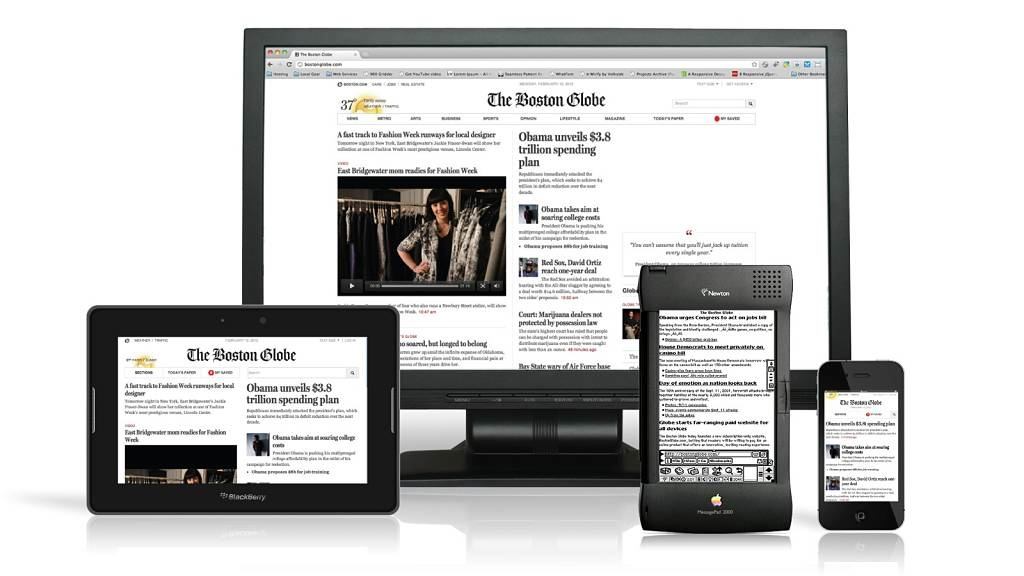 diseño responsive the boston globe