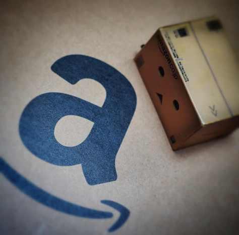Caja de Amazón - e-commerce