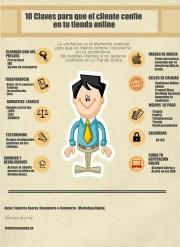 10 claves para que el cliente confíe en tu tienda online, Infografía