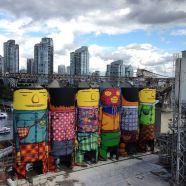 HIPPIES SILOS – 6 silos industriali opera d'arte