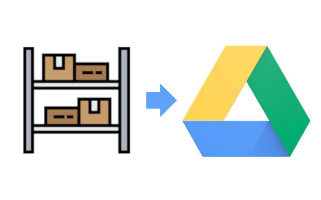 google drive magazzino
