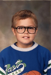 Rob 3rd grade school picture 1988