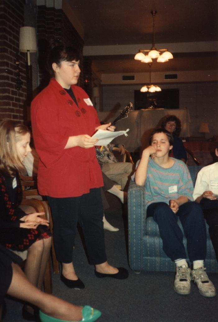 Murder Mystery Dinner 1993?