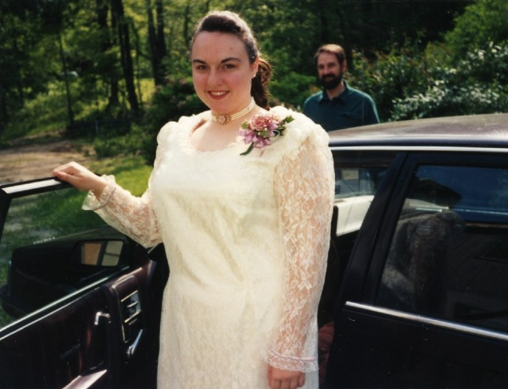 Clare at Prom 1994