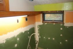 Walls are ready for painting
