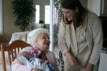 Grandma Grand holding Spencer