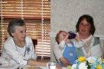 Aunt Harriet, Kim, and Jonathan