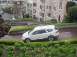 Cars on Lombard Street