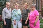 The Goold siblings - Bud, Betty, Nancy, and Fran