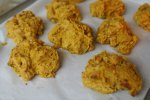 Pumpkin drop biscuits