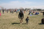 Rick and Tao enjoying the kite festival