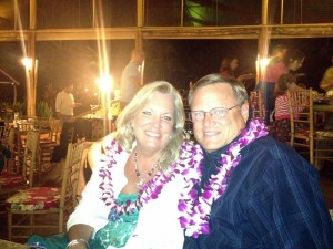 Mike and Tammy - our best friends for the week