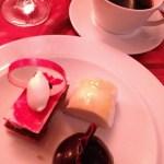 farewell dinner desserts