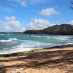 Picnic spot on the north coast of Kauai