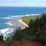 Kee beach view from Kalalau trail