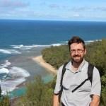 Rob on the Kalalau trail