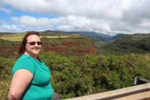 Clare by Waimea canyon